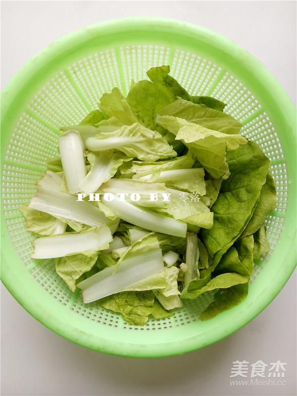 白菜炒木耳的做法图解