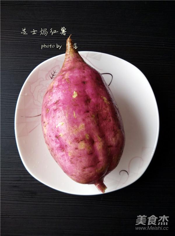 芝士焗红薯的做法大全