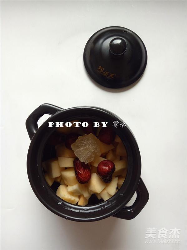 苹果红枣汤的步骤