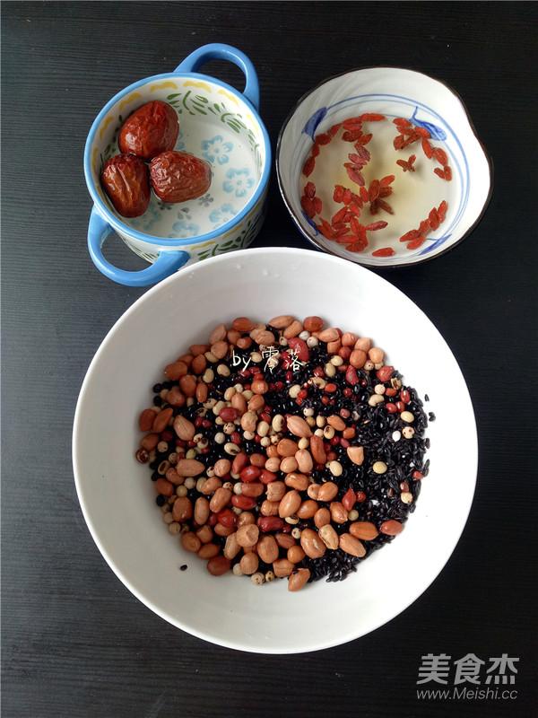 黑米养生粥的做法图解
