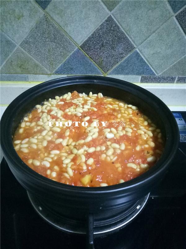 茄汁焗黄豆怎么煮