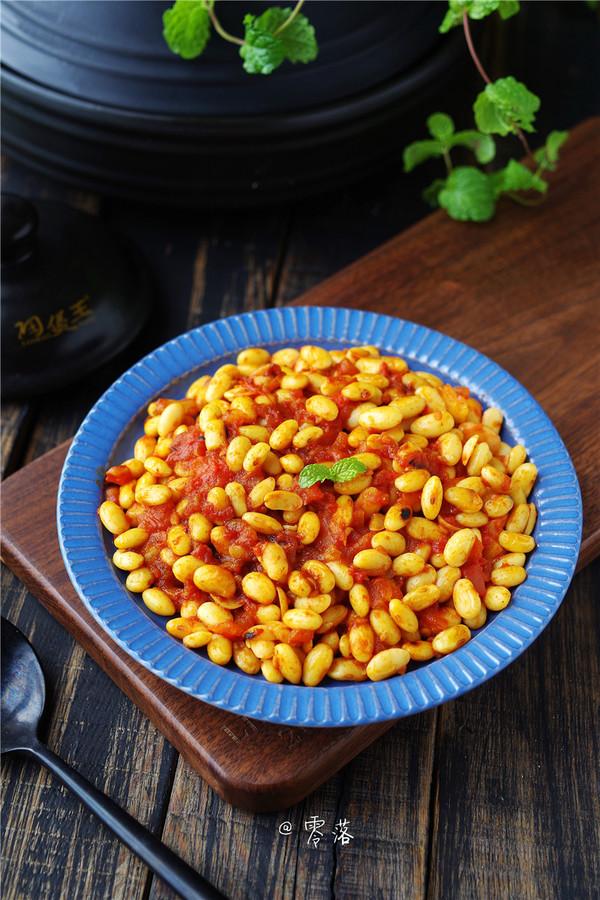 茄汁焗黄豆怎样做