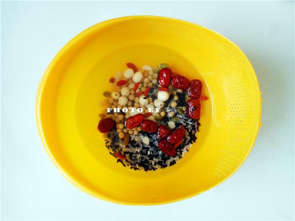 营养杂粮粥的步骤