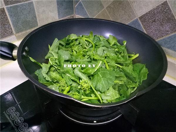 炝炒油菜的简单做法
