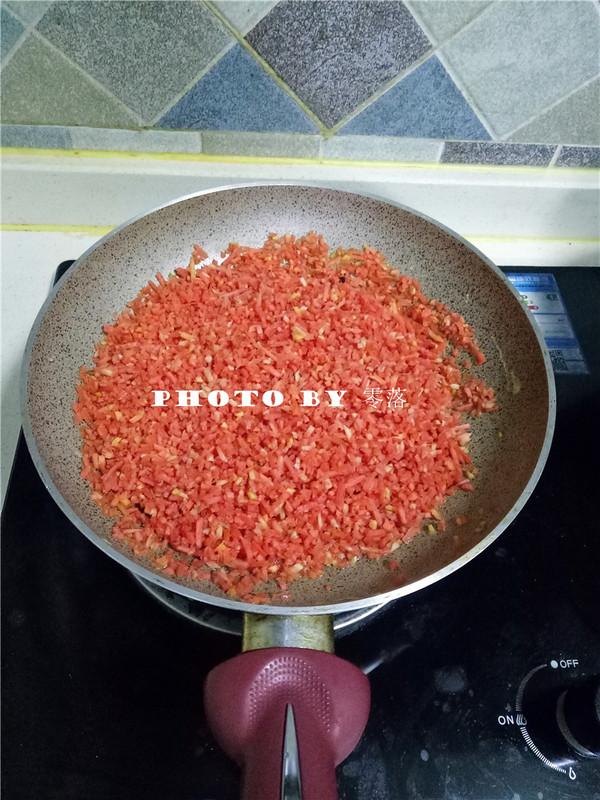 胡萝卜炒鸡蛋怎么做
