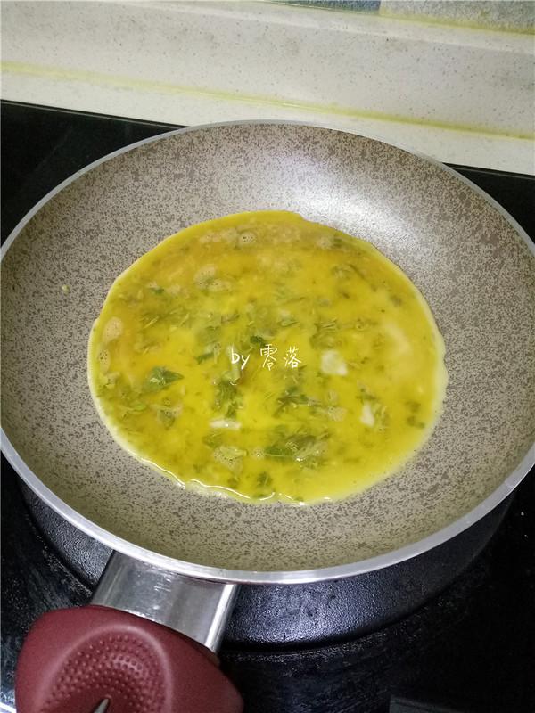 香椿厚蛋烧怎么做