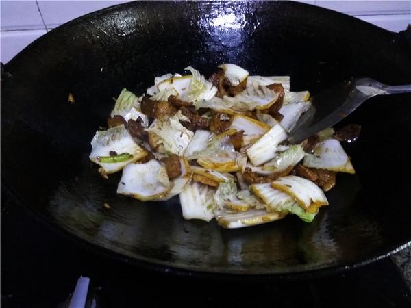 猪肉白菜炖粉条怎么炒
