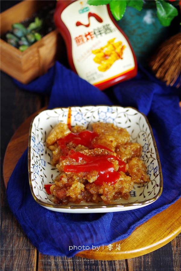 香煎粽子成品图