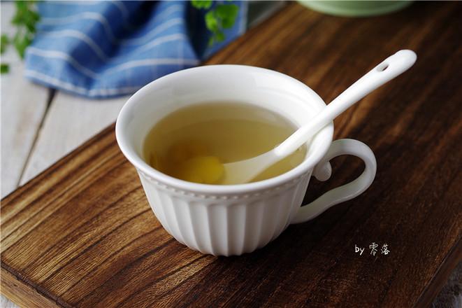 老姜蜂蜜水成品图