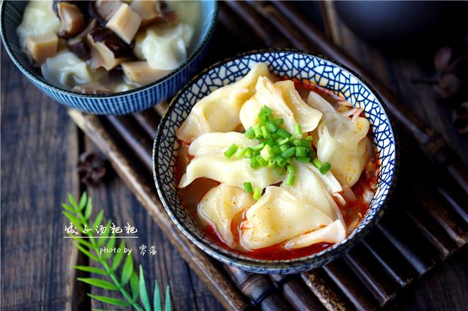 红油饺子皮成品图