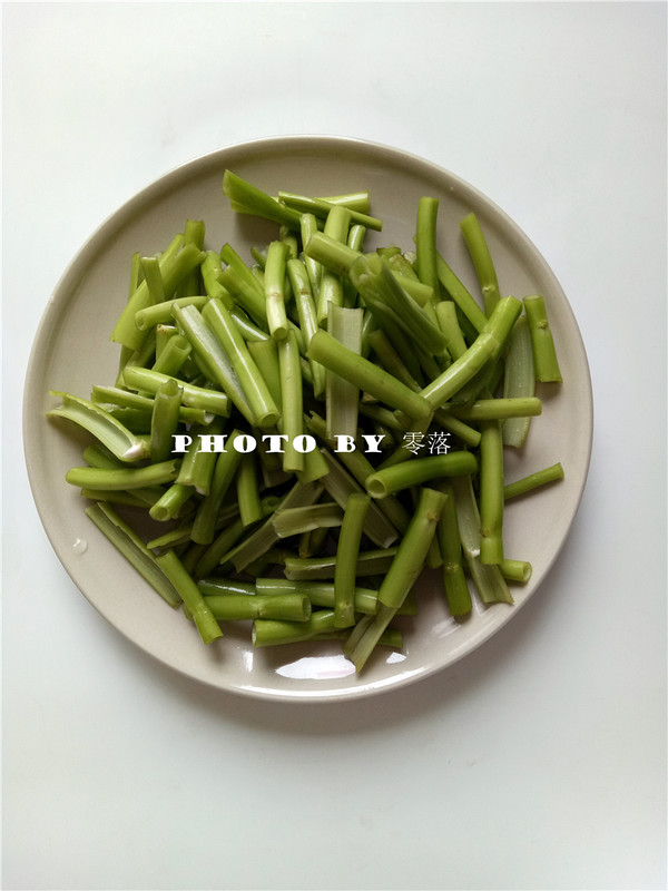豆豉空心菜的做法图解