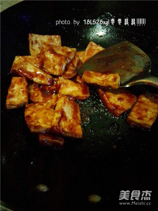 糖醋脆皮豆腐的步骤