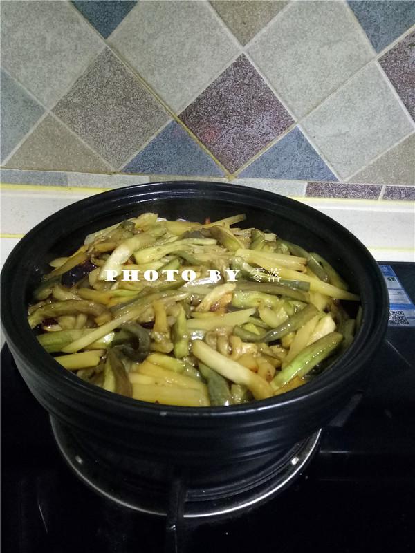 土豆焖茄子怎么炒