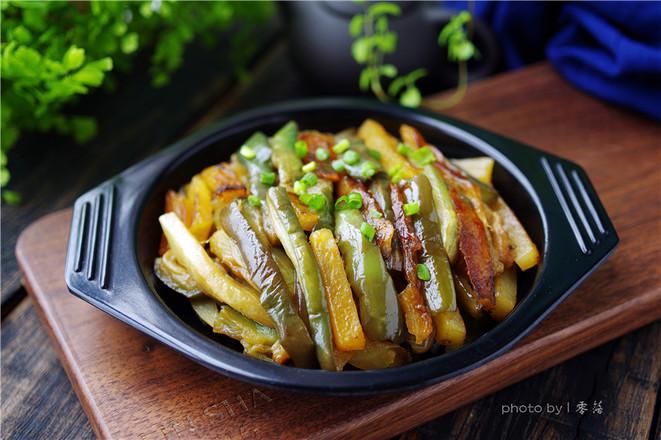 土豆焖茄子怎么煮