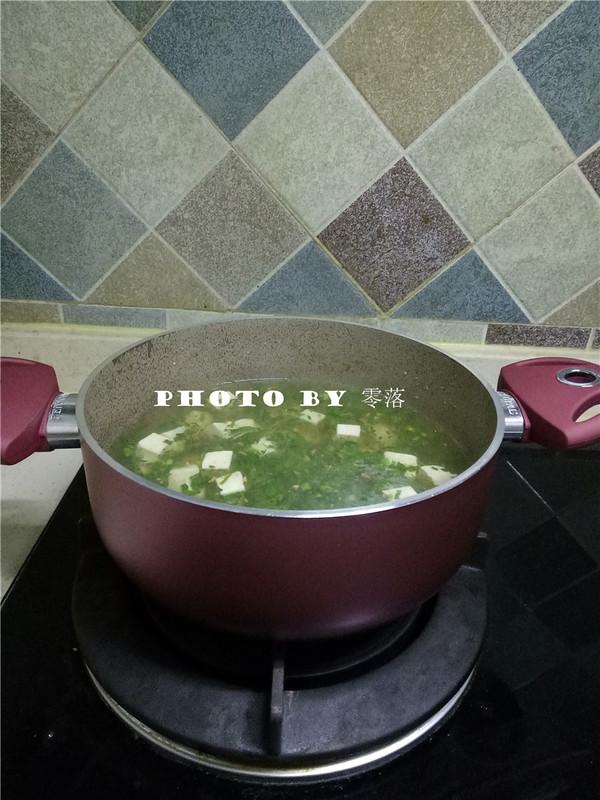 豆腐青菜汤怎么炒
