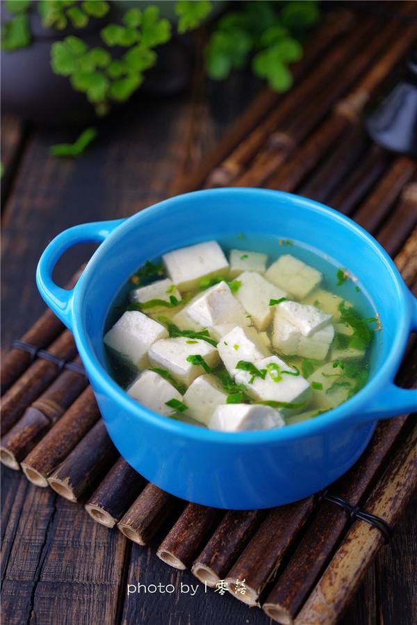 豆腐青菜汤怎么煮