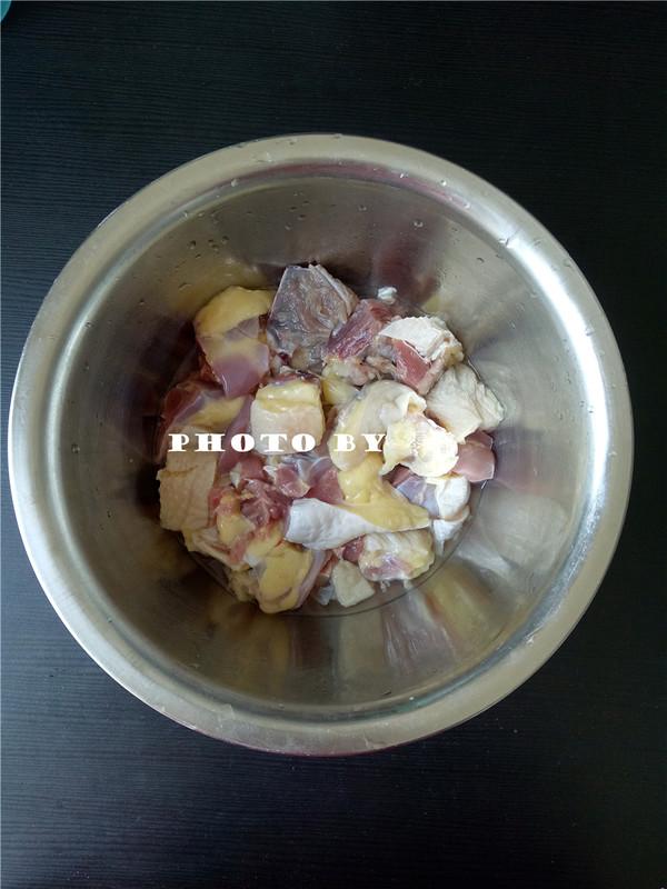 粉条烧土鸡的做法图解