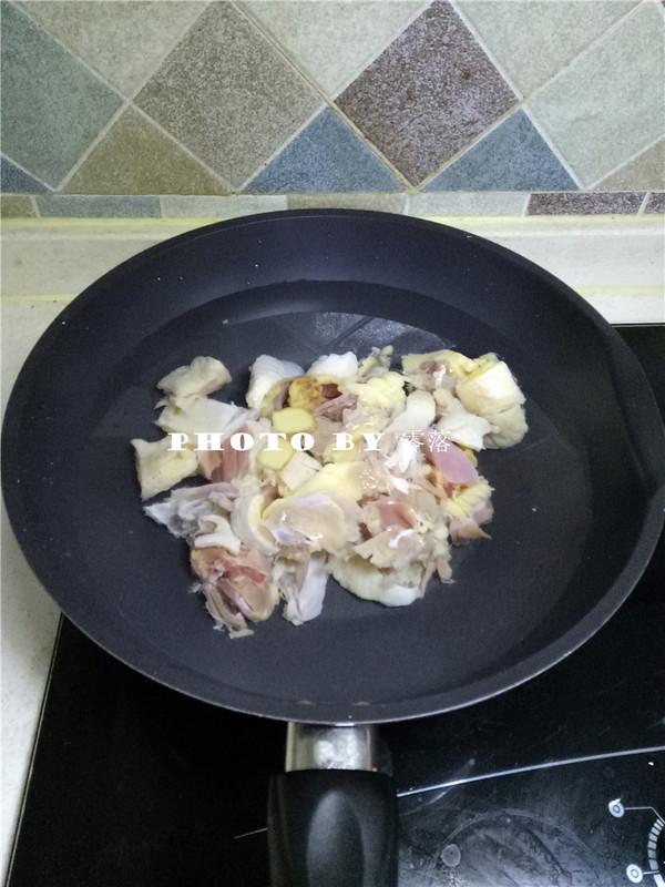 粉条烧土鸡的家常做法