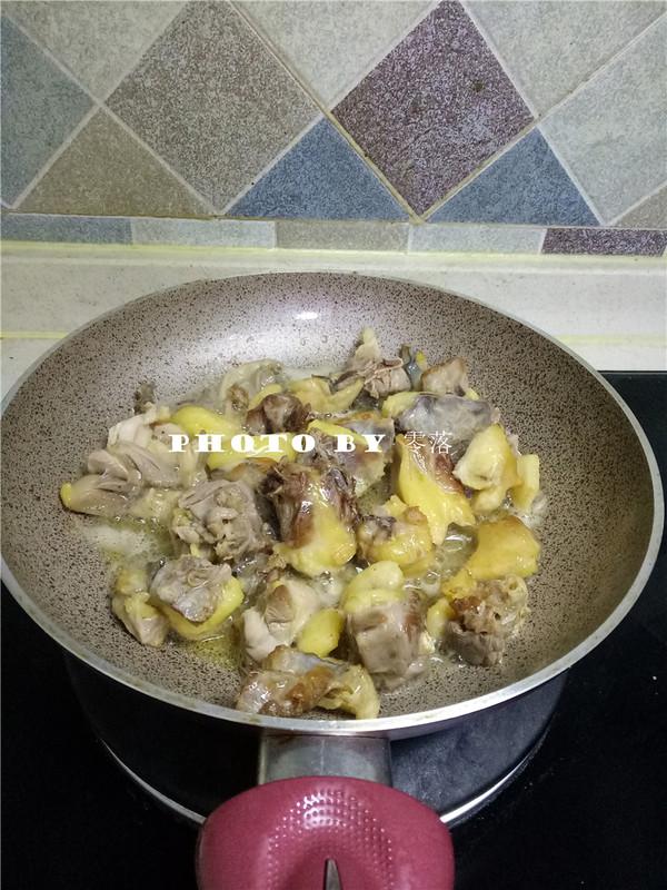 粉条烧土鸡怎么做