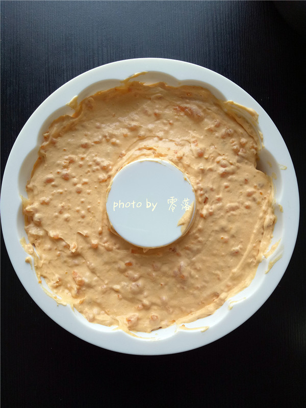 南瓜慕斯蛋糕的步骤
