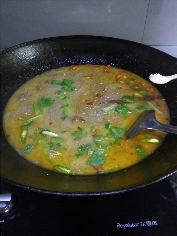 火鸡腿烧粉条怎么煮