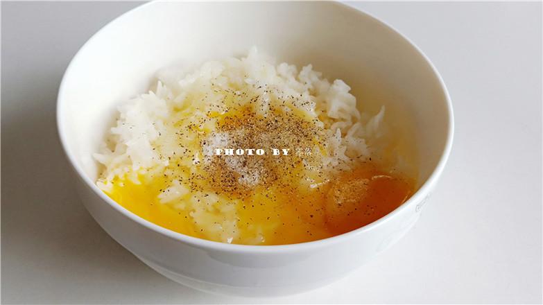 霸王超市   米饭鸡蛋煎饼的做法图解