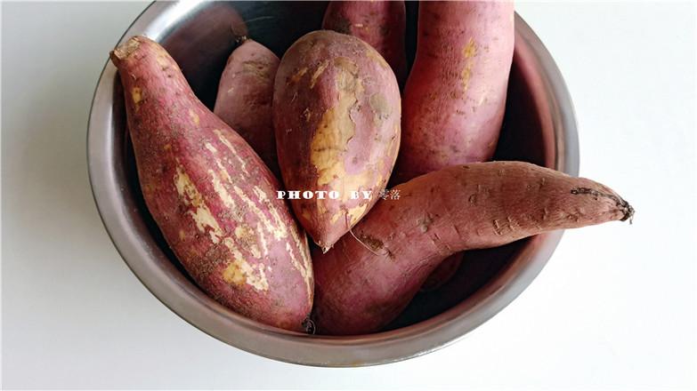 香甜烤红薯的步骤