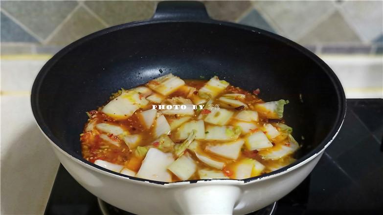 鱼香白菜怎么煮