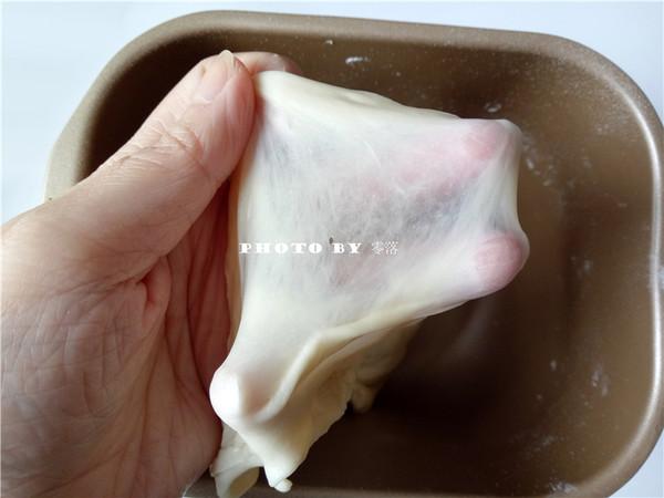 手撕柚子蜜面包的做法图解