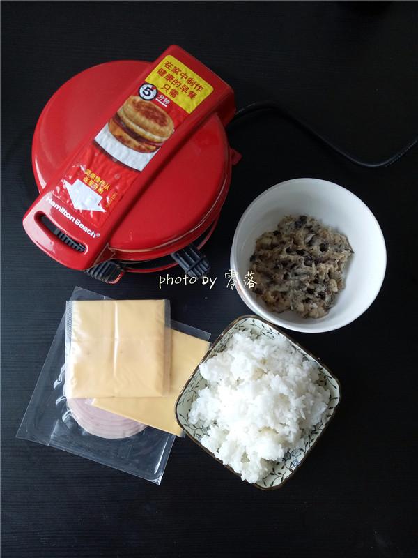 米饭肉饼汉堡的做法大全