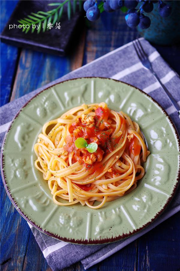 茄汁肉末意面怎么煮