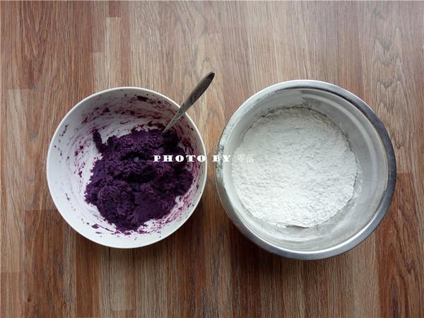 紫薯小汤圆的做法大全