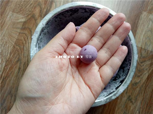 紫薯小汤圆怎么吃