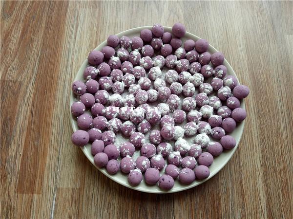 紫薯小汤圆怎么炒
