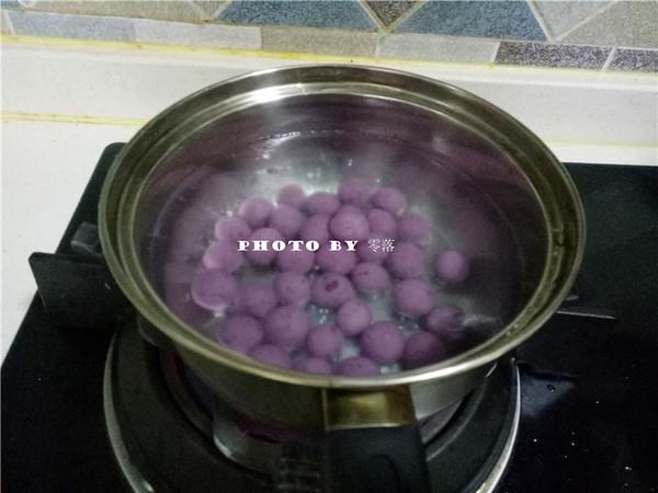 紫薯小汤圆怎么炖