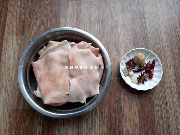 胡萝卜烧肉皮的做法图解