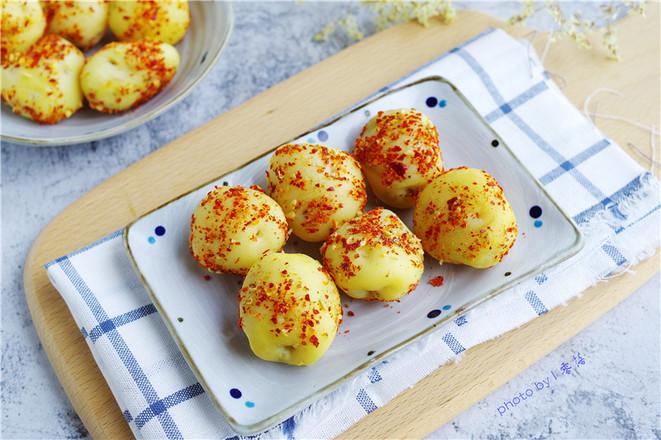 土豆蛋儿成品图