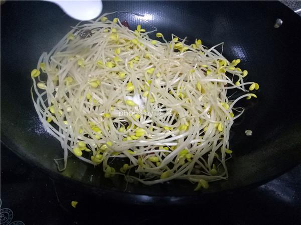 炝炒黄豆芽怎么做