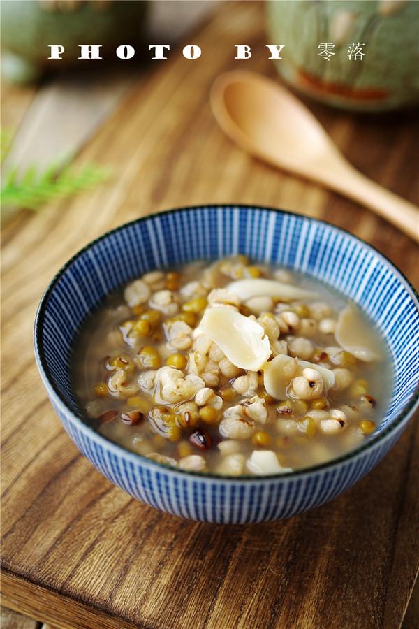绿豆薏仁百合汤怎么煮