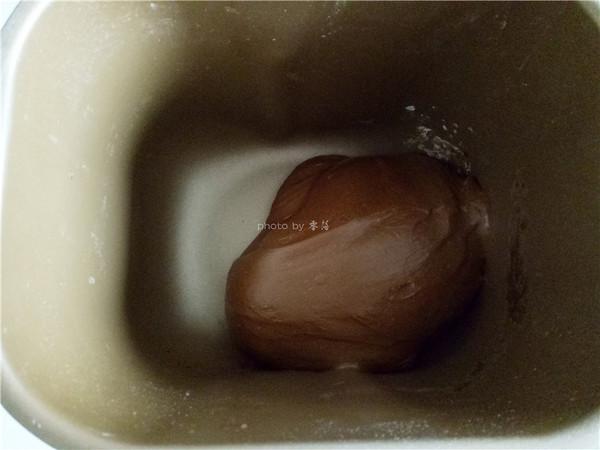 香醇咖啡坚果面包的步骤