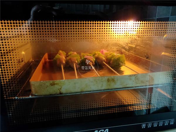 牛肉肠烤串的步骤