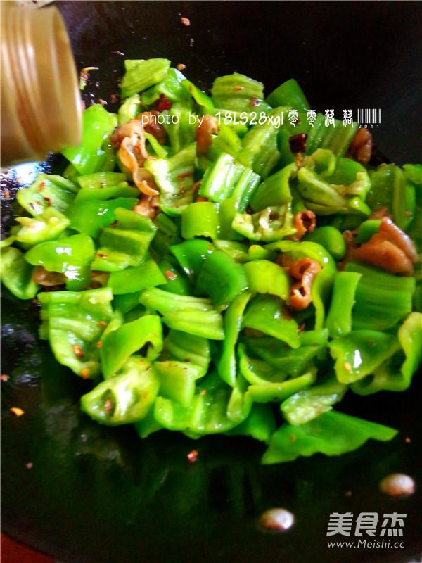 青椒爆肥肠怎么煮
