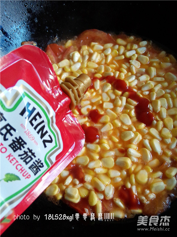 番茄玉米丁怎么煮