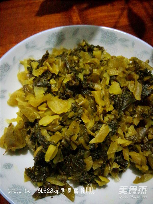 酸菜肉末煲粉条的家常做法
