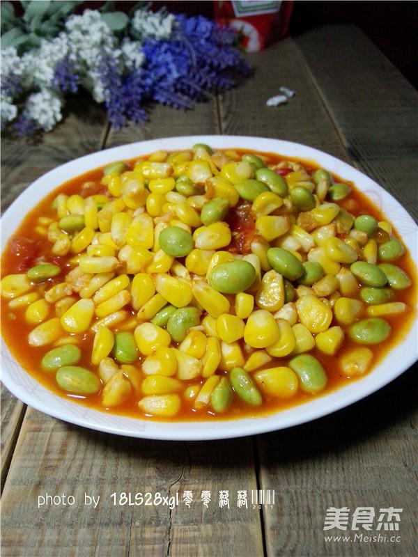 玉米烧毛豆怎样做