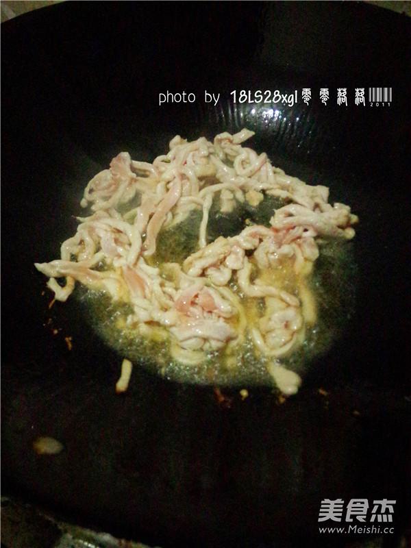 时蔬炒肉丝怎么吃