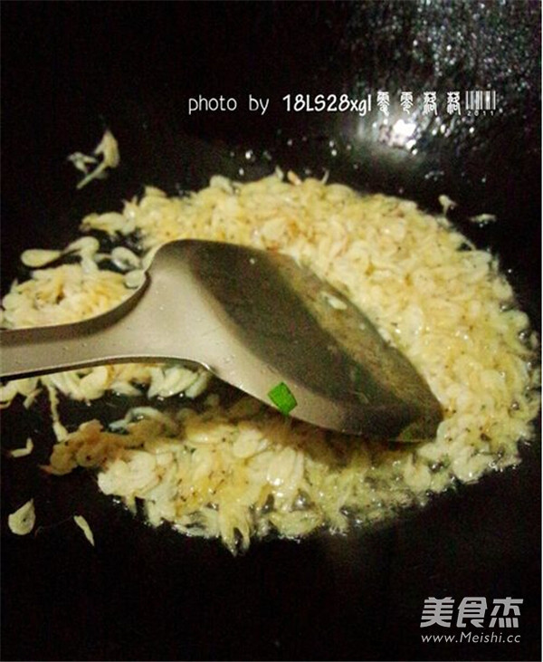 虾皮韭菜的家常做法