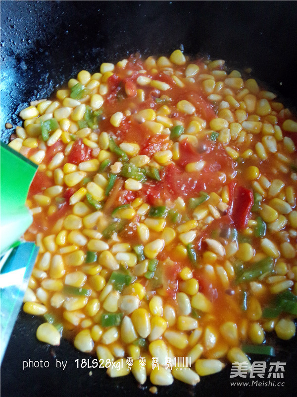 番茄玉米丁怎么煸