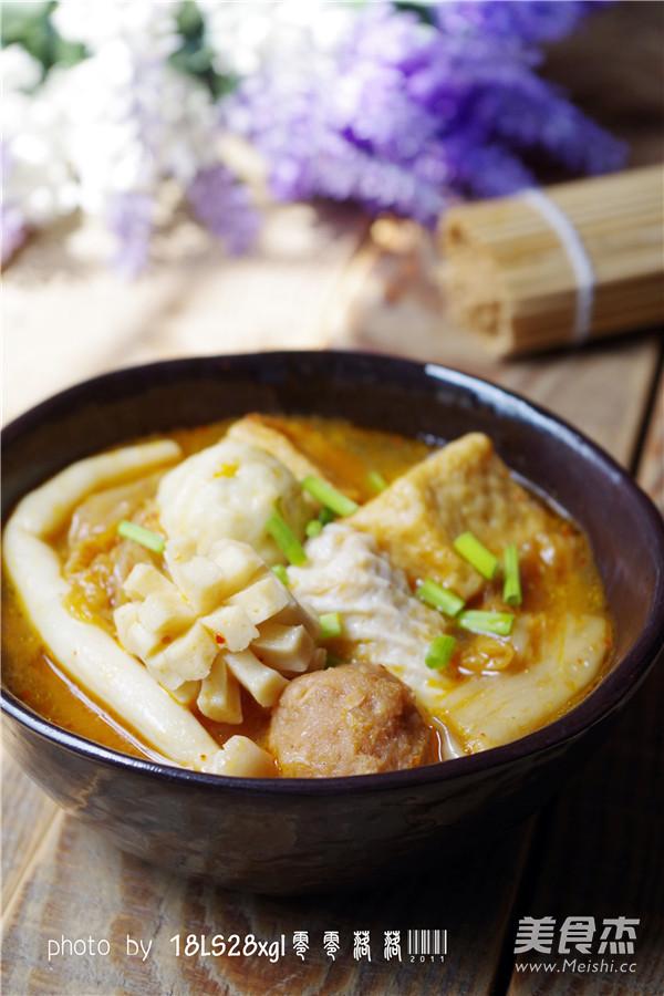 韩式辣白菜丸子汤怎么煮