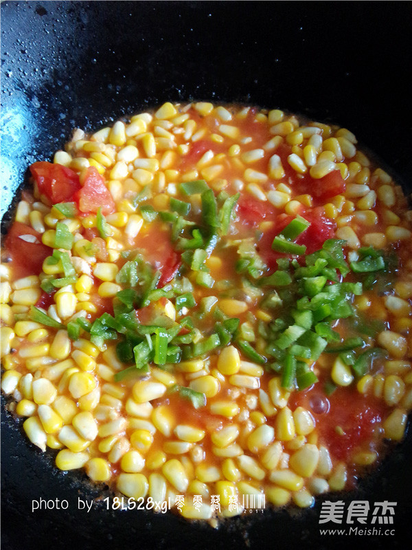 番茄玉米丁怎么炖